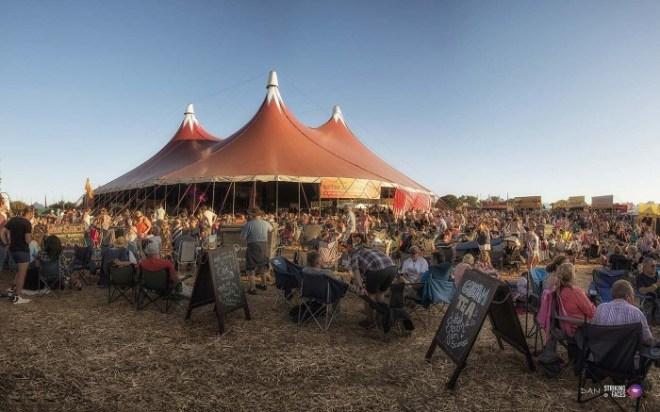 Wickham Festival site