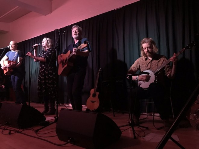 NAOMI BEDFORD & PAUL SIMMONDS – Album Launch Interview