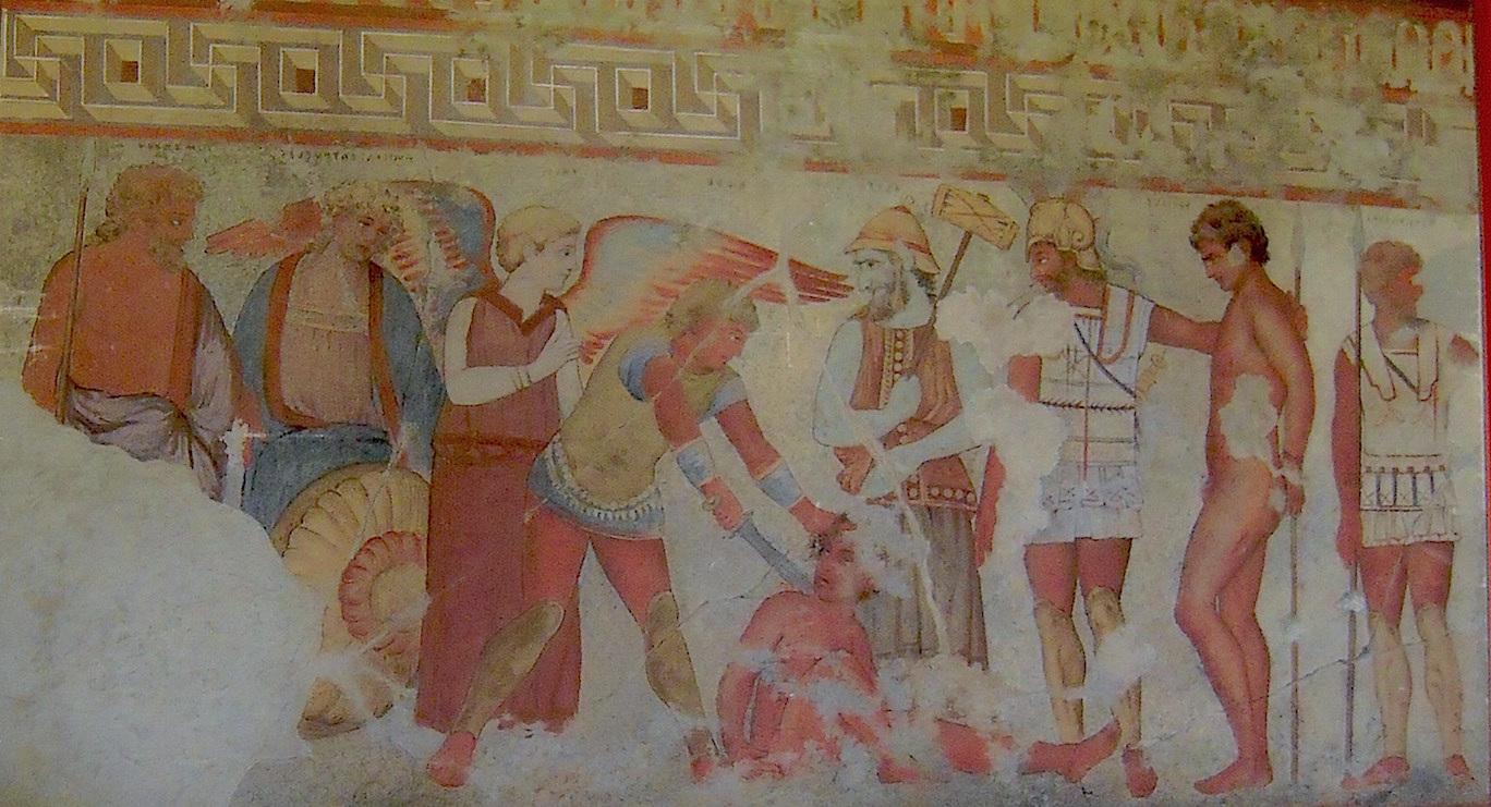 Fresco depicting Vanth. François Tomb (Source: Battlelight)