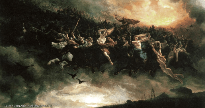 Peter Nicolai Arbo, 'Asgårdsreien' (1872)