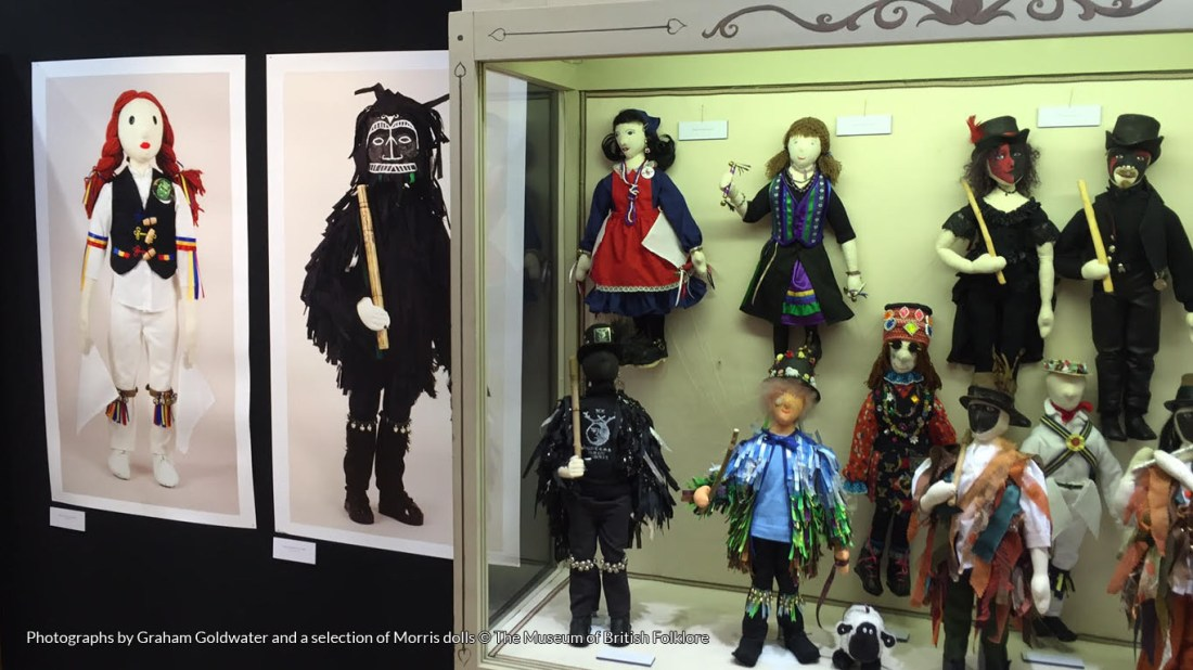 Photographs by Graham Goldwater and a selection of Morris dolls © Museum of British Folklore
