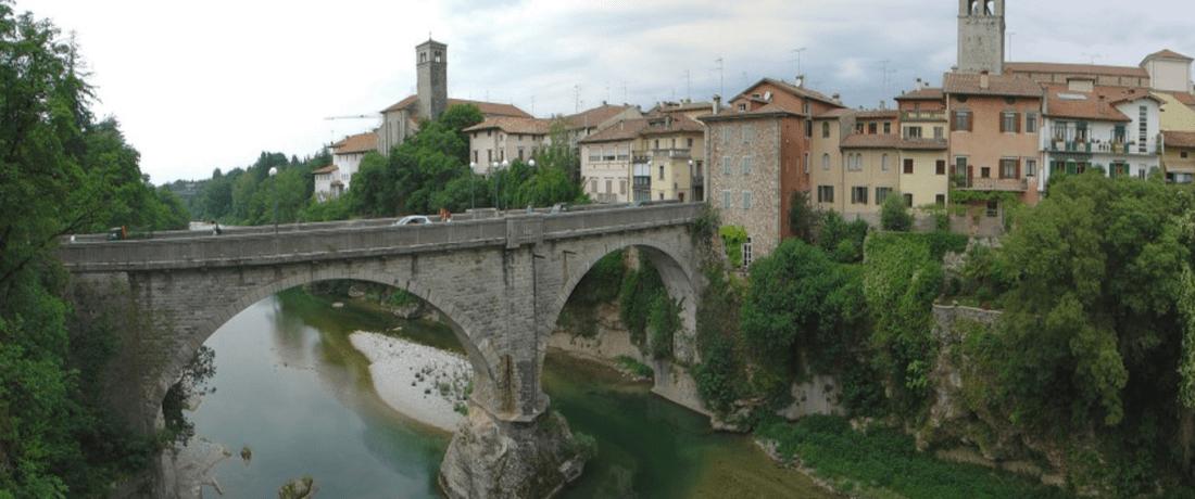 Ponte del Diavolo - the Devils Bridge, Cividale © https://en.wikipedia.org/w/index.php?curid=11743879