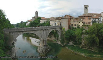 Ponte del Diavolo - the Devils Bridge, Cividale © https://en.wikipedia.org/w/index.php?curid=11743879