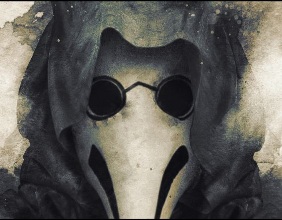 Poster artwork for The Plague Doctor— Barrett Biggers
