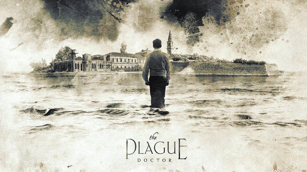 Poster artwork for The Plague Doctor— Barrett Biggers