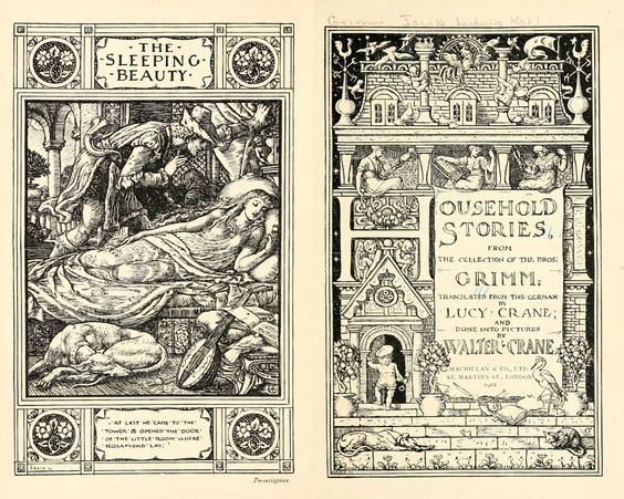 The Brothers Grimm, translated by Lucy Crane, illustrated by Walter Crane