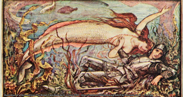 Image result for folklore related to mermaids and mermen