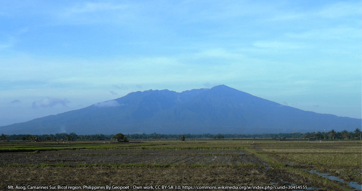 Mt. Asog, Camarines Sur, Bicol region, Philippines By Geopoet - Own work, CC BY-SA 3.0, https://commons.wikimedia.org/w/index.php?curid=30454555