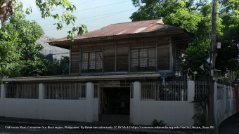 Old house, Baao, Camarines Sur, Bicol region, Philippines . By Elmer nev valenzuela  CC BY-SA 4.0 https://commons.wikimedia.org/wiki/File:Old_House,_Baao.JPG