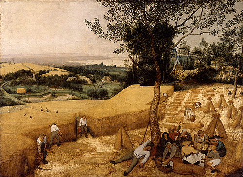 The Harvesters by Pieter Brueghel the Elder Source https://commons.wikimedia.org/w/index.php?curid=204340