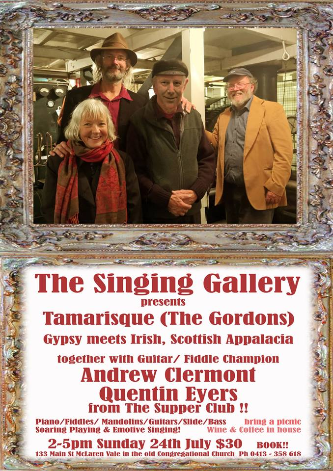 Tamarisqu & Andrew Clermont, Quentin Eyers & The Supper Club