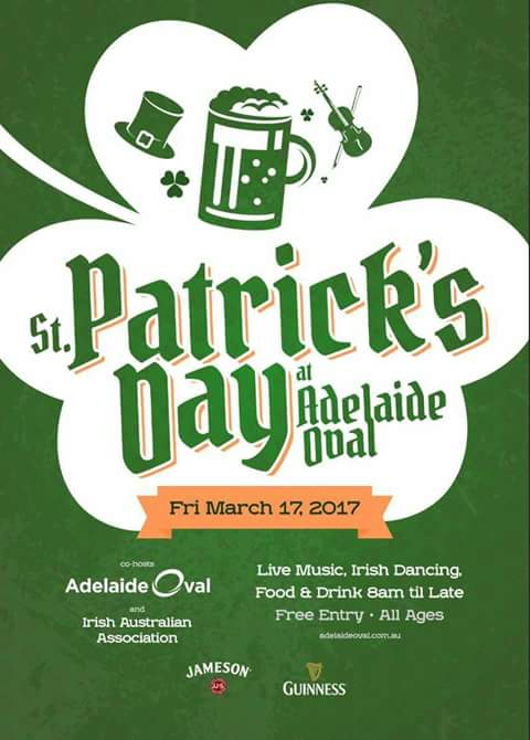 St Patricks Day at Adelaide Oval