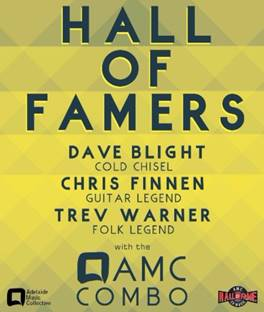 AMC HALL OF FAMERS: Blight, Finnen, Warner with guests The Beggars