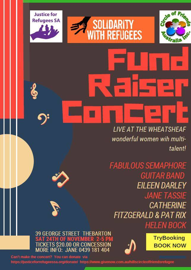 Solidarity with Refugees Fundraiser Concert