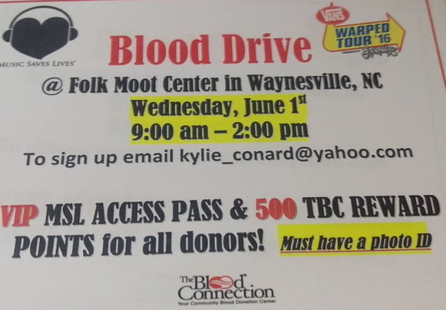 Blood drive is set for folkmoot on june 1 folkmoot usa blood drive is set for folkmoot on june 1 m4hsunfo