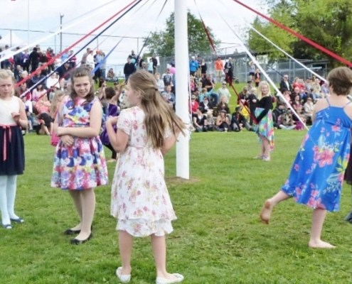 Celebrate May Day with Folkmoot
