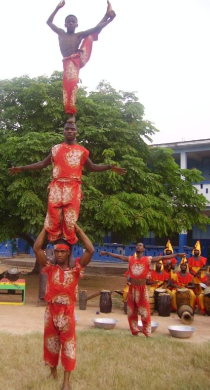 Ghana dance your heart away at Folkmoot Festival 2018