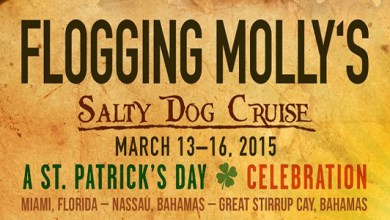 "Photo of Flogging Molly Announces ""The Salty Dog Cruise"" For St Patrick's Day weekend 2015"