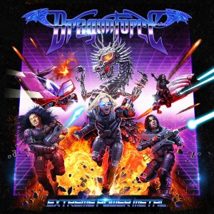 DragonForce Extreme Powermetal Album Cover