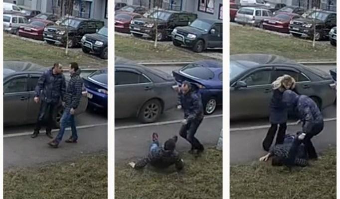 Rus pretukao komšiju