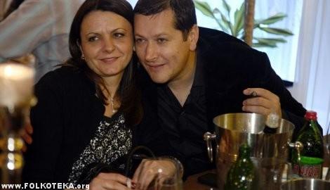 Aco Pejovic i supruga