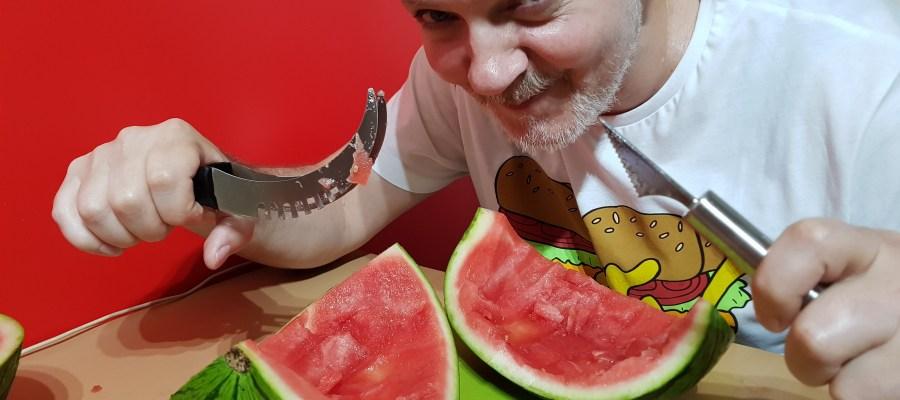 klanje lubenice - watermelon slicer video - lubenica