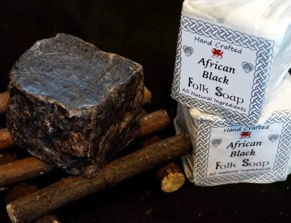 African Black Traditional Recipe Soap