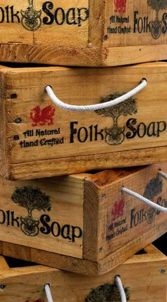 Display Boxes by Folk Soap