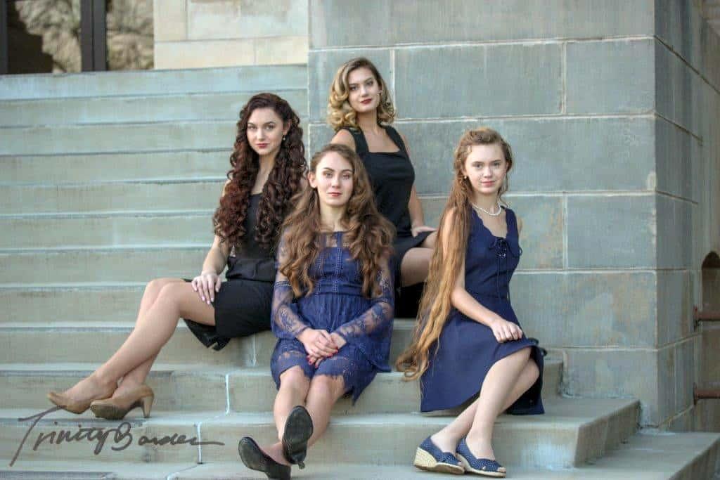 The Burnett Sisters Promo shot