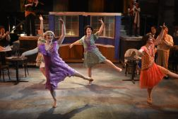 The Dancing girls! (Alexandre Kassouf, Clare Lillig, Laura Martino and Athena Kopulos)
