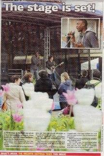 Welwyn Hatfield Times inside cover