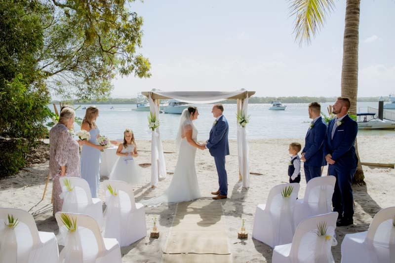 Gold Coast Beach Wedding Photographer