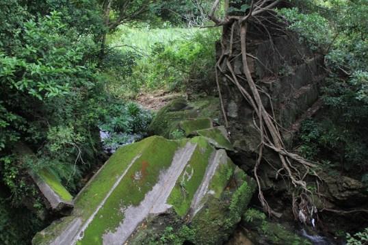 最上方的水壩