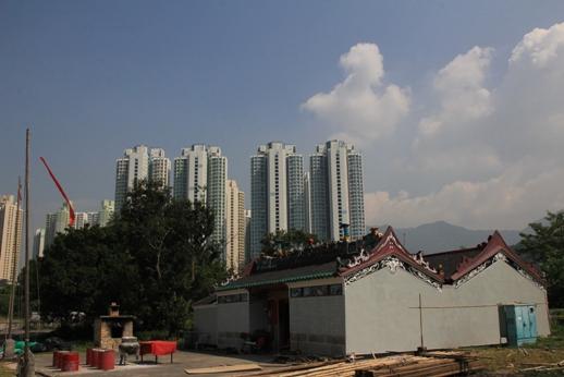 候王廟正在修葺中
