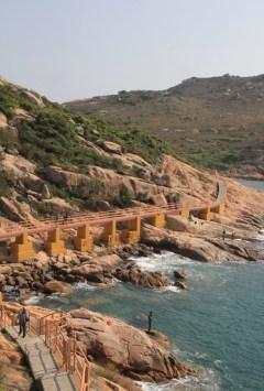 橙色的南氹灣大橋