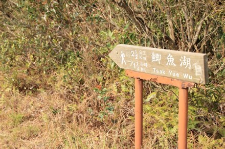 鯽魚湖方向