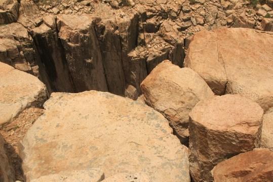 巨大的岩柱