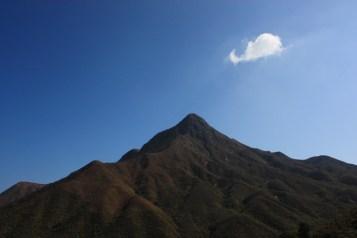 尖削的山峰