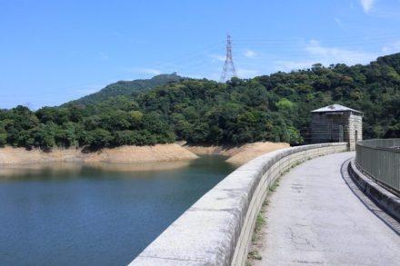 九龍水塘的水壩