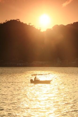 大澳看日落