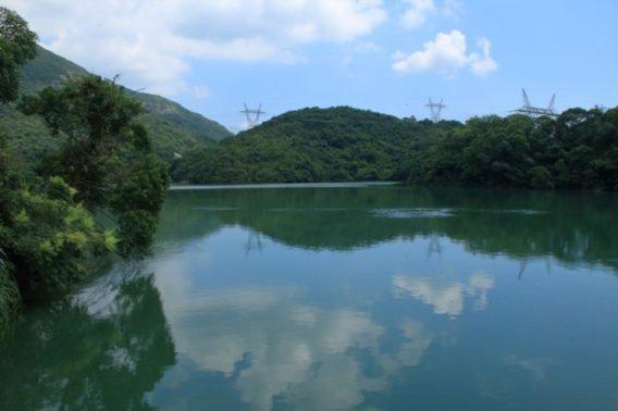 風光卷明媚的上水塘