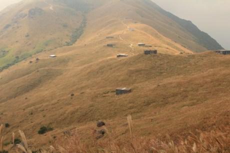 爛頭營的石屋群