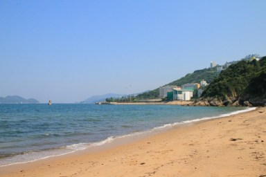 白水碗沙灘 (The beach in Pak Shui Wun)