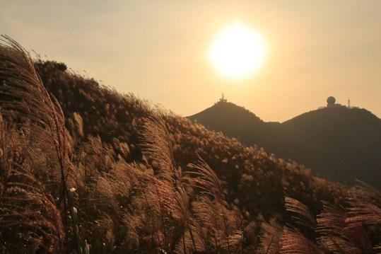東洋山的日落