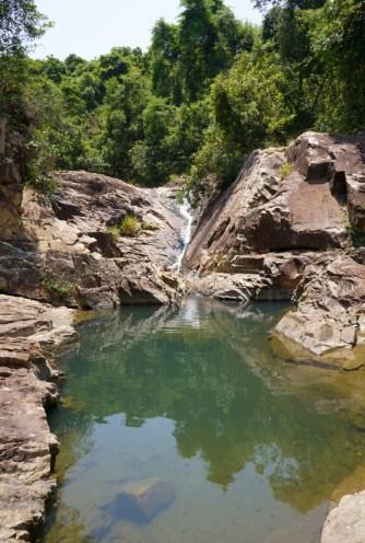 第一個小潭瀑