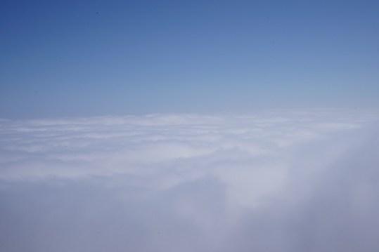 剎那間,雲海就在腳下