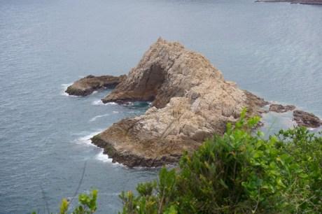 像一條石魚的響岩