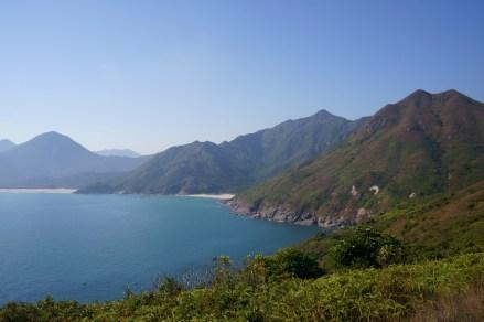 一尖兩灣的風景
