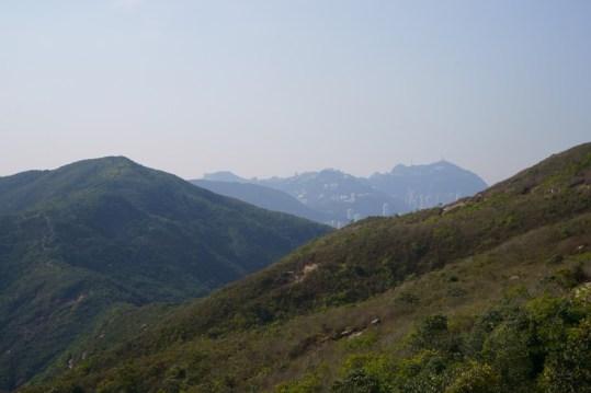 前面是渣甸山