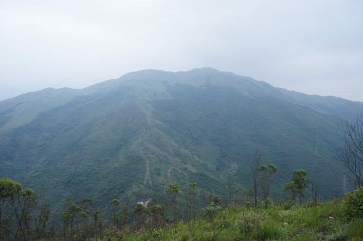 南望雞公嶺